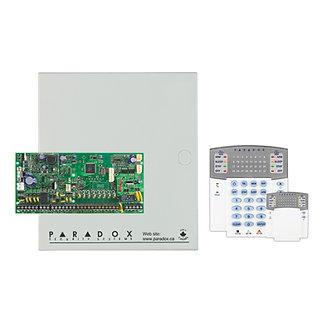 SP6000 - PARADOX  16 ZONE, 2 PGM, 2 KISIM KONTROL PANELİ