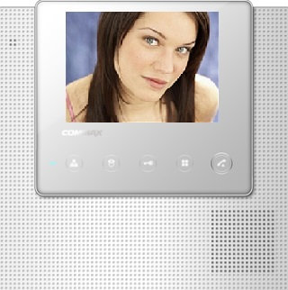 "CDV-43U/R - COMMAX 4.3"" FULL-LED LCD HANDSFREE MONİTÖR"