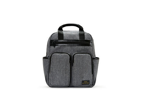 Columbus Diaper Bag Backpack, Gray