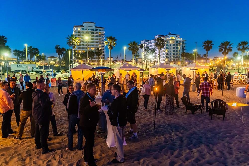 Ticketmaster Reception at Paséa Hotel & Spa, Huntington Beach