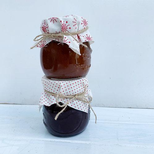 Christmas Sauce Jars - Pack of 2