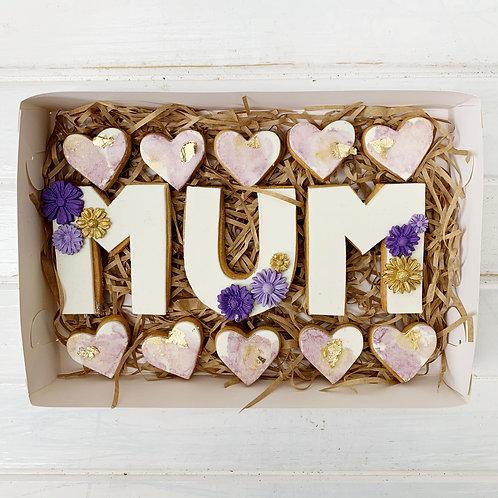 MUM Cookie Box