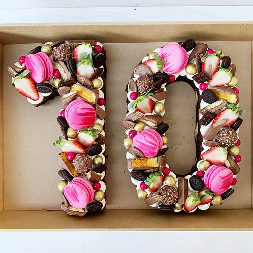 Double Brownie Cake