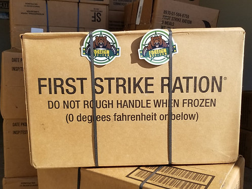 CASE First Strike Ration INSP/TEST DATE 08/2023