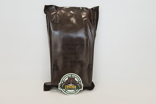 US MILITARY Vintage MRE Menu 6 Chicken a la King