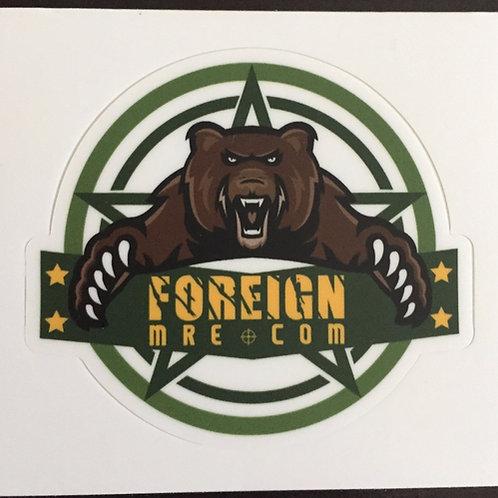 """ForeignMRE.com 3"""" Stickers"""