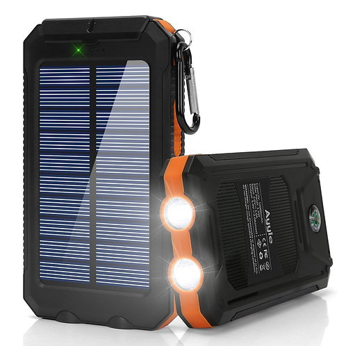 Ayyie Solar Charger 10000 mAh Solar Power Bank