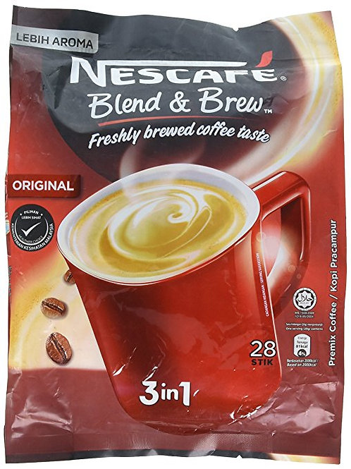 Nescafé 3 in 1 Instant Coffee Asian Coffee Imported from Malaysia