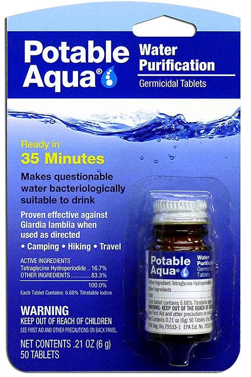 Potable Aqua Water Purification Treatment