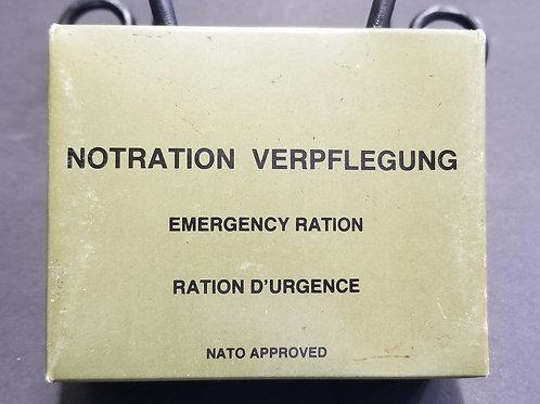 1987 German Fighter Pilot Emergency Ration