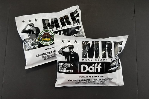 DAFF 12-Hr. (CIVILIAN) Ration (TWO PACK)