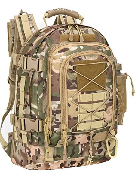PANS Military Expandable Travel Tactical Backpack
