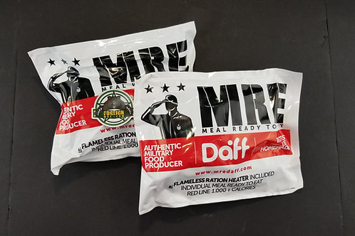 DAFF Police Ration (TWO PACK)