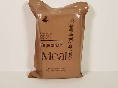 Pasta with Vegetables - Menu 11 VINTAGE MRE