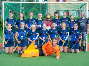 U18 Girls sind Vize-Schweizermeister