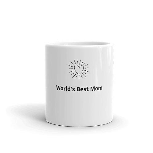 White Ceramic Coffee or Tea Mug for Mom