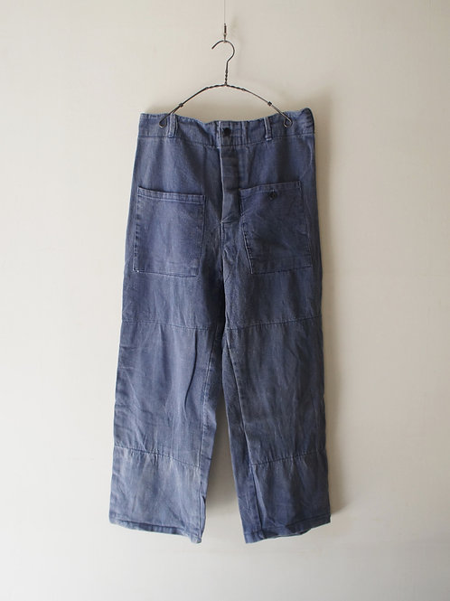 1950-60's German patch pocket work pants