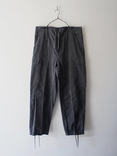 "1970-80's ""Denmark Military"" M-71 cargo pants"