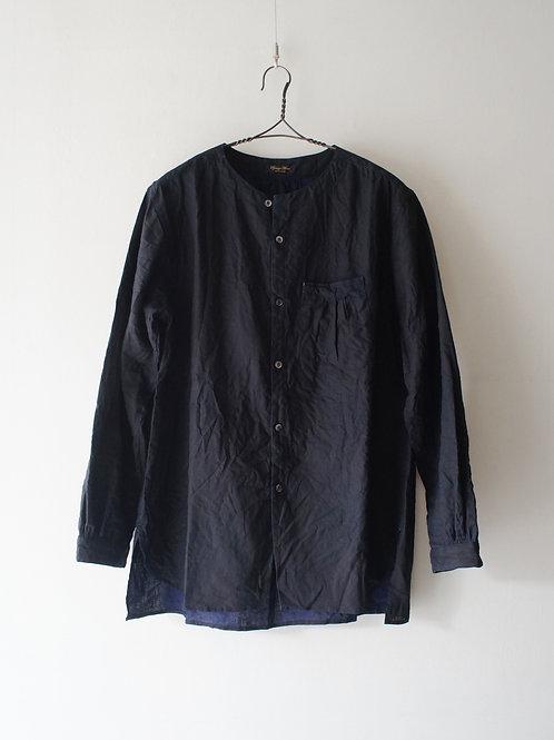 """""""Django Atour"""" classic german indigolinen shirt -size L-"""