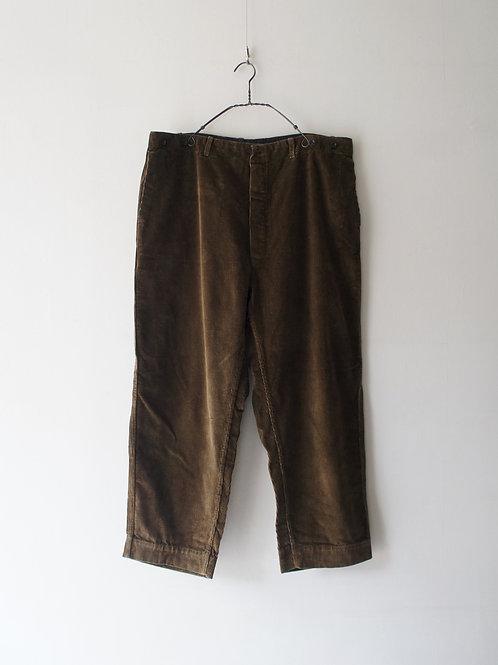 1950-60's German Corduroy Trousers