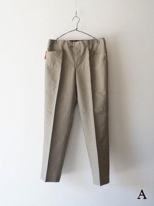 "1960's ""TERGAL"" Light Trousers ""A"""