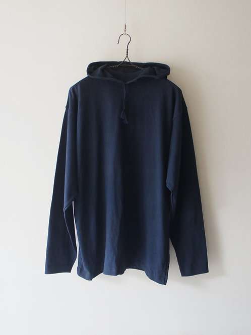 1970-80's Italy cotton hoodie