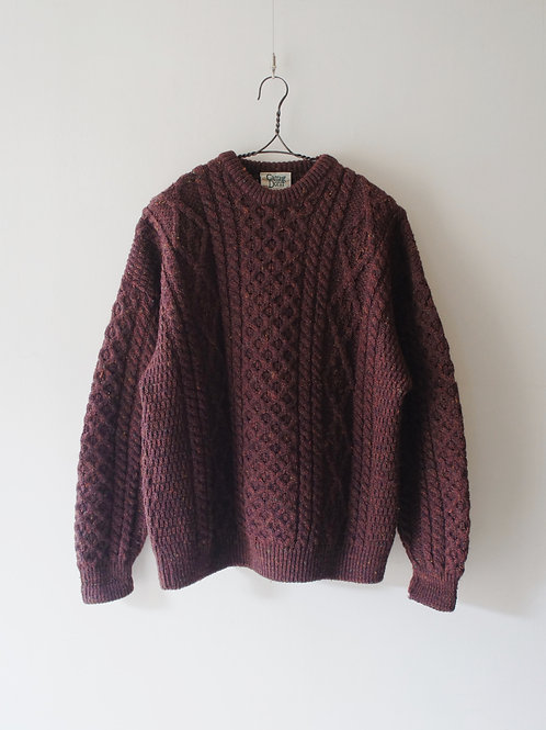 "Old ""Carraig Donn"" Fisherman Sweater"