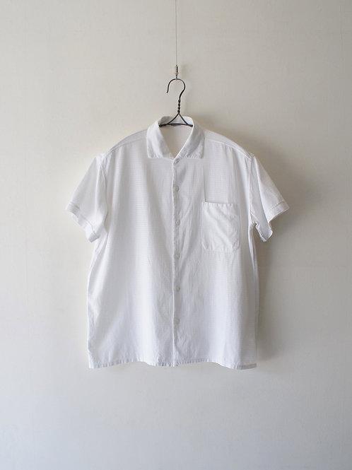 1940-50's French White S/S Shirt