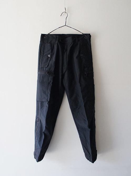 """2000's """"Swedish Army"""" M-90 Field pants -Deadstock- -Black 160/65-"""