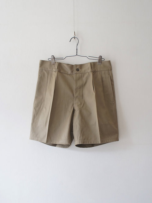 "1972's ""Italian Military"" Chino Shorts -Dead Stock-"