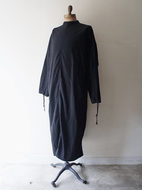 "1960's ""Czech Military"" Surgical Gown -Black-  A(胸ポケット無)"