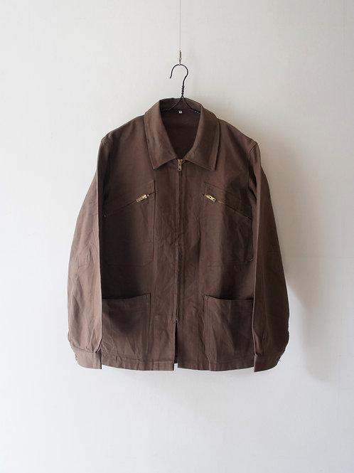 """1950's """"VETRA"""" Brown Work Jacket"""