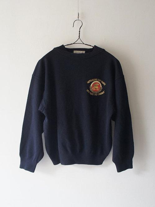 """Old """"ARMATA DI MARE"""" Boatneck Sweater"""