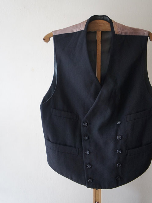 1930's French double breasted gilet