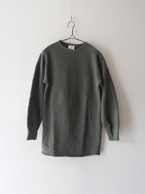 """1980's """"French Military"""" Cotton Sweat -size 104-"""