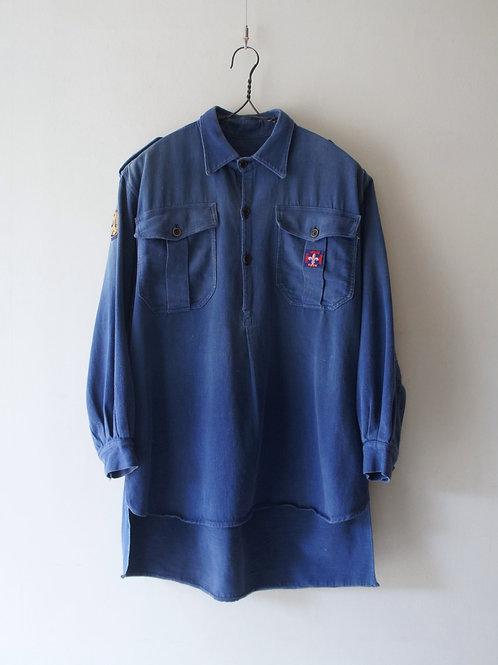 1930-40's French Moleskin Shirt