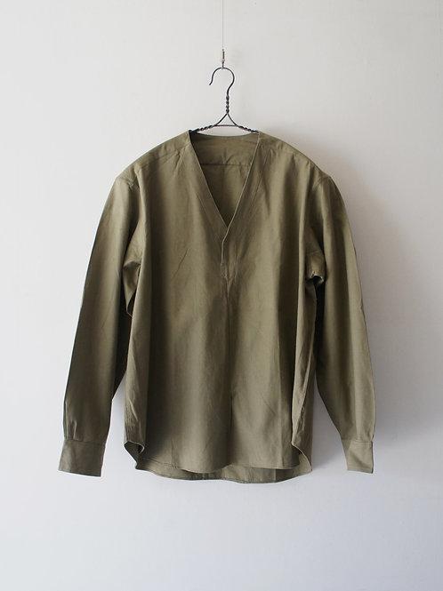 "1970's ""Romanian Military"" Sleeping shirt -Deadstock-"