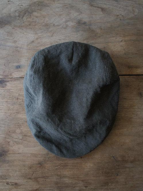 """TREATY HATS"" Linen hunting cap -Brown- -size L-"