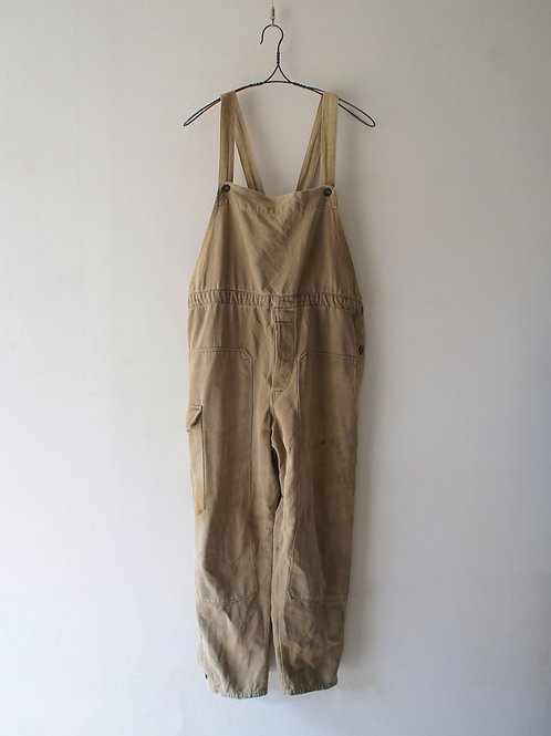 """1950-60's """"Czech Military"""" Canvas overall"""