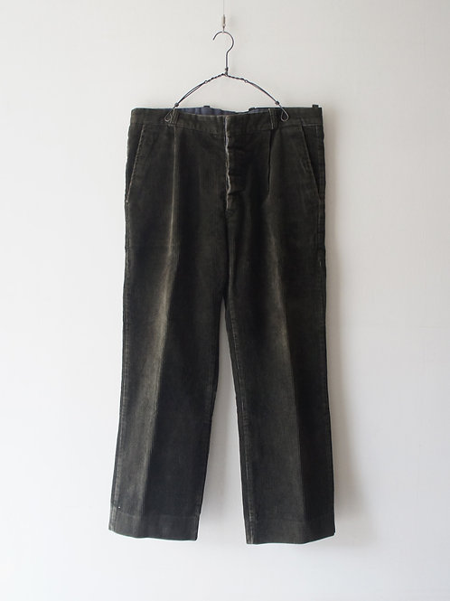 1960's Italy Corduroy Trousers