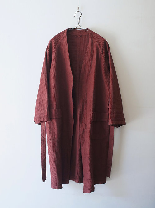 "2000's ​""Italian Military"" Surgical Gown -Maroon-"