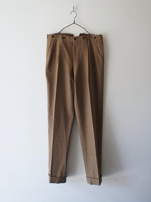 1970-80's Italy summer wool trousers