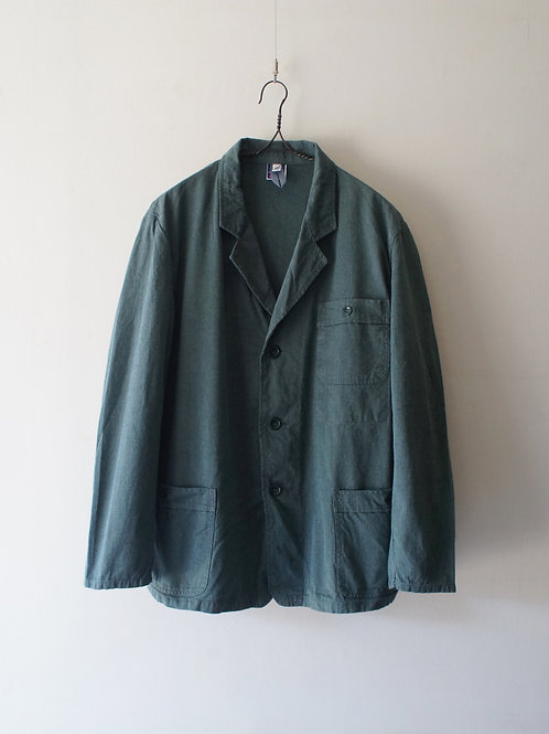 1960-70's German Green Twill Work Jacket