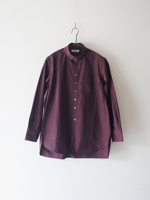 """""""Django Atour"""" Roundcollar B.D Shirt -deepwine- -size S-"""