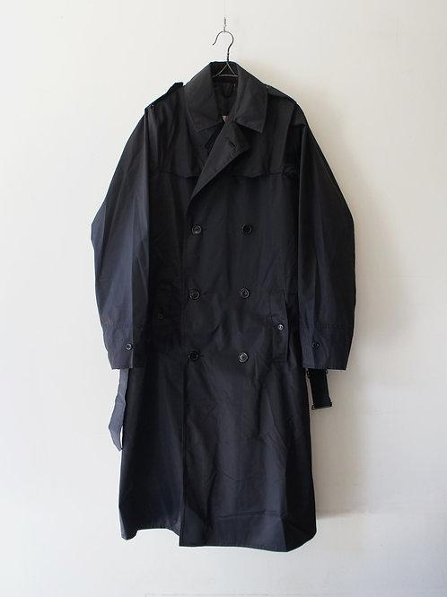 "1980's ""italian Military"" Nylon trench coat -Deadstock-"
