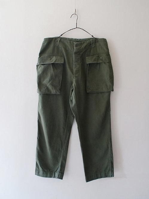 "1960-70's ""Italian Military"" Cargo pants"