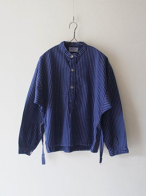 "1960-70's ""AJAK"" Stripe Work Shirt"
