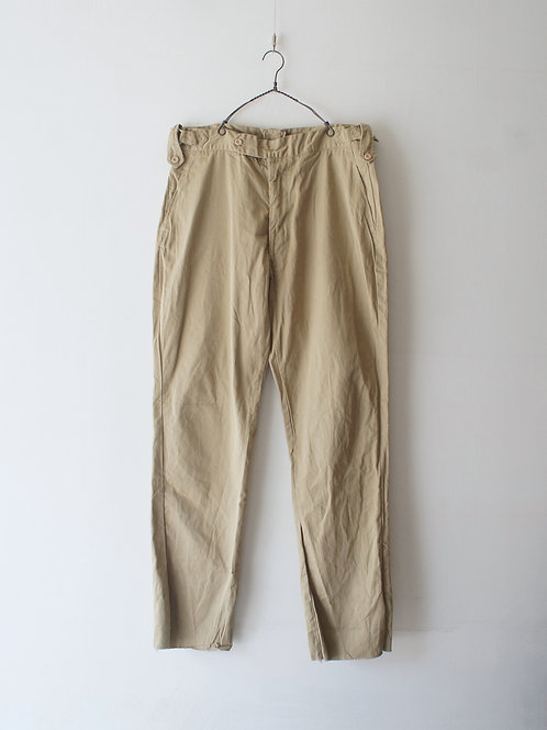 "1990's ""Pakistan Army"" Chino Trousers -Deadstock-"
