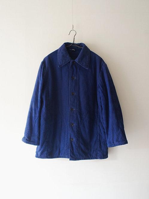 1960-70's German Work Quilting Jacket