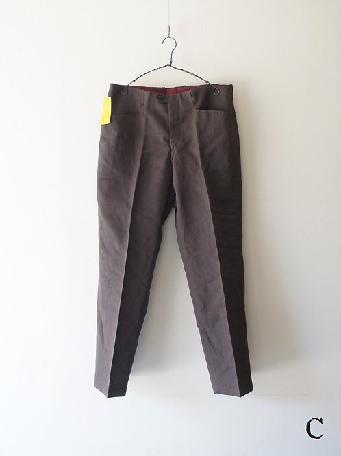 "1960's ""TERGAL"" Light Trousers ""C"""